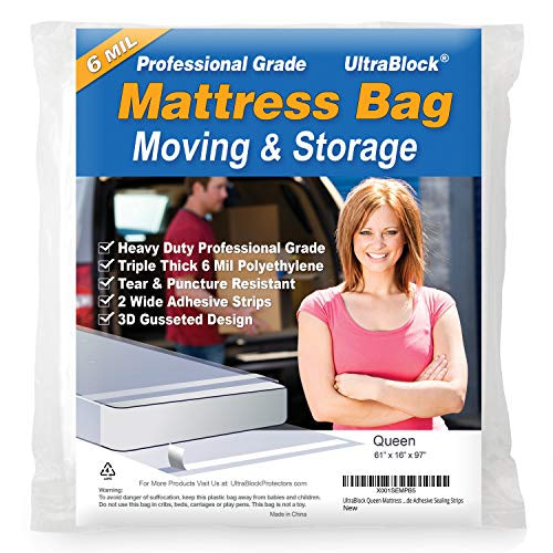 Best Mattress Bag for Moving and Storing  |  2021 Buyer's Guide & Reviews
